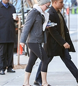 Jennifer Lawrence Arrives Back to her Hotel in NYC - December 15