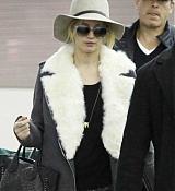 Jennifer Lawrence Arriving at JFK Airport - December 15