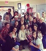 Jennifer Lawrence Visits Kosair Children's Hospital - December 24