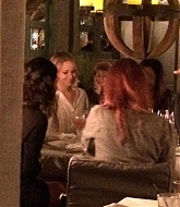 Jennifer Lawrence Chills with Friends at Pump Restaurant - November 22