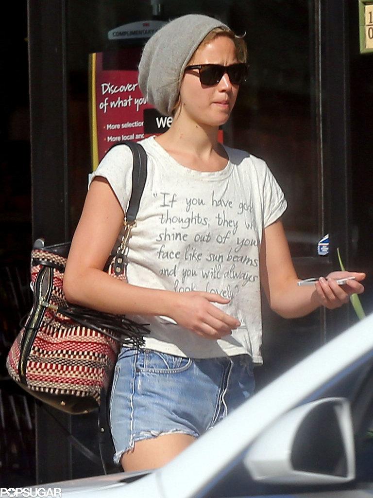 Jennifer Lawrence In Malibu, CA - September 15