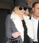 Jennifer Lawrence Leaving Hotel in NYC - December 17