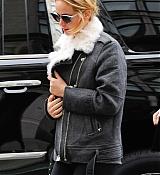 Jennifer Lawrence Leaving Soul Cycle - November 16