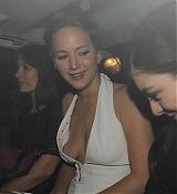 Jennifer Lawrence & Lorde Leaving Mockingjay Part 1 After Party - November 11