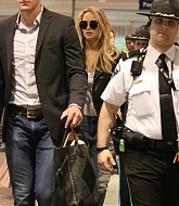 Jennifer Lawrence Arrives at Montreal Airport - May 18