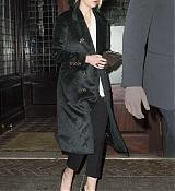 Jennifer Lawrence Heads To Watch Cabaret Broadway - January 9