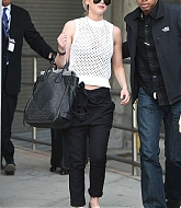 Jennifer Lawrence In New York - May 1