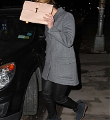 Jennifer Lawrence Leaving Verve Restaurant - Feb 28