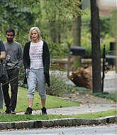 Jennifer Lawrence Out with Amy Schumer & Aza Ansari in Atlanta - October 4