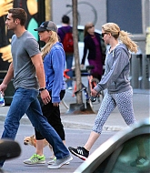 Jennifer Lawrence Out with Pippi in Montreal - May 21