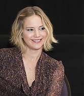 Jennifer Lawrence at  The Hunger Games Mockingjay Part 1 Press Conference - November 10