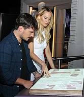 Jennifer Lawrence at The Hunger Games Exhibition Party - June 29