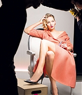 Jennifer Lawrence For Dior Addict Lipstick Campaign Shoots