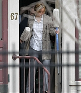 Jennifer Lawrence Filming Joy - April 15