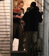 Jennifer Lawrence Filming Joy on February 19, 2015