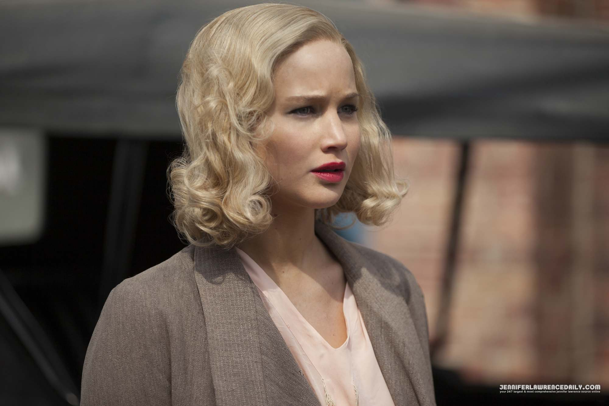 Jennifer Lawrence New 'Serena' Movie Stills