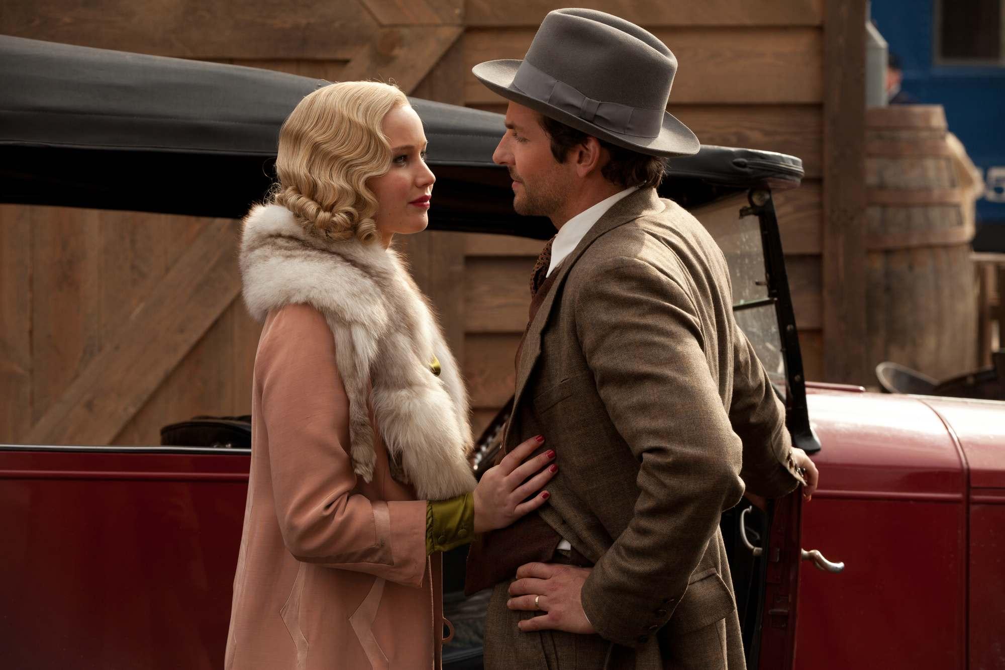 Jennifer Lawrence for 'Serena' Movie Stills