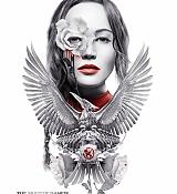 Jennifer Lawrence New Mockingjay Part 2 Poster