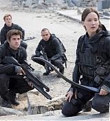Jennifer Lawrence at The Hunger Games: Mockingjay - Part 2