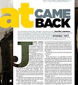 Jennifer Lawrence Cover Cineplex Magazine - November 11