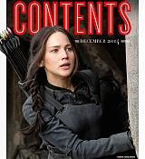 Jennifer Lawrence as Katniss Everdeen Covers Empire Magazine Scans