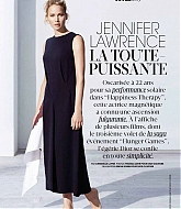 Jennifer Lawrence Covers for Madame Figaro Magazine