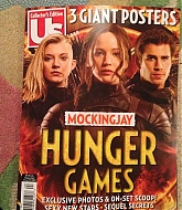 Jennifer Lawrence Features in Us Weekly's Mockingjay Special Issue