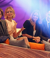 Jennifer Lawrence and Liam Hemsworth at Wetten, Dass?? TV Stills