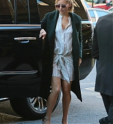 Jennifer Lawrence Arrives Back To Her Hotel - November 13