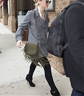 Jennifer Lawrence Arrives for Meeting in NYC - December 16