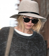 Jennifer Lawrence Arrives To Her Hotel - November 11