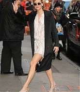 Jennifer Lawrence Arrives at Good Morning America - November 13