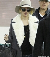 Jennifer Lawrence Arriving at JFK Airport - December 15