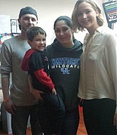 Jennifer Lawrence Visits Kosair Children's Hospital - December 24