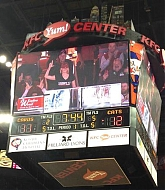 Jennifer Lawrence & Family at Louisville Cardinals Basketball Game - December 27