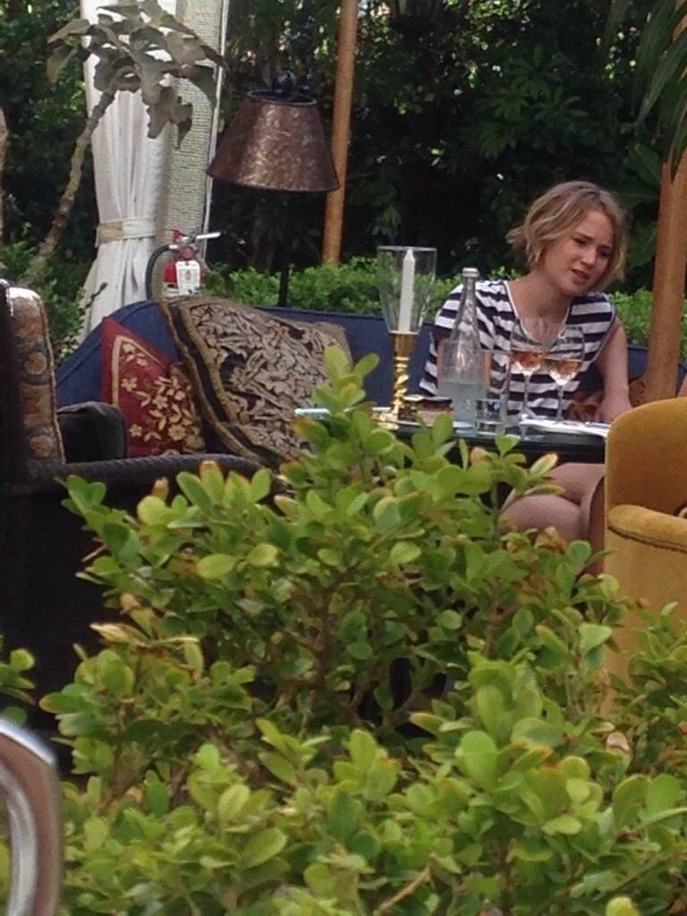 Jennifer Lawrence In Cheateu Marmont in Los Angeles - September 12