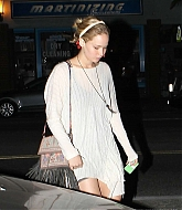 Jennifer Lawrence Dinner Date with Papa Lawrence - October 27