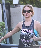 Jennifer Lawrence HIts The Gym in Brentwood - October 1