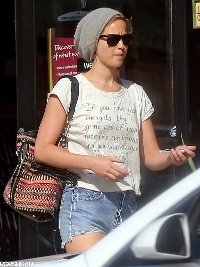 Jennifer Lawrence In Malibu, CA - September 15