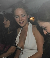 Jennifer Lawrence & Lorde Leaving Mockingjay Part 1 After Party - November 11