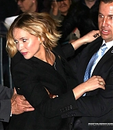 Jennifer Lawrence Leaving The Late Show with David Letterman - November 12