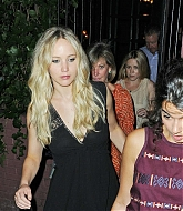 Jennifer Lawrence Dining at Waverly Inn - June 26