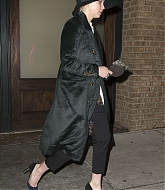 Jennifer Lawrence Heads To Watch Cabaret Broadway - January 9