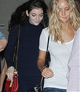 Jennifer Lawrence and Lorde out in NYC - May 3