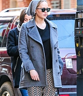 Jennifer Lawrence Out in New York City - March 29