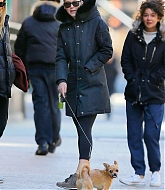 Jennifer Lawrence In Tribeca with Pippi - March 22