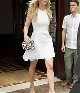Jennifer Lawrence Leaving Hotel in Greenwich - June 29