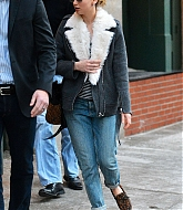 Jennifer Lawrence Leaving Hotel in NYC - January 9