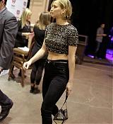 Jennifer Lawrence attends 2014 iHeartRadio Music Festival - Night 1 [Backstage] - September 19