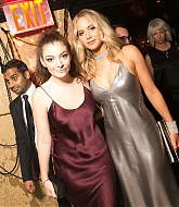 Jennifer Lawrence and Lorde at Met Gala After Party - May 4